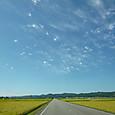 小粟田原の空