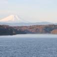 狭山湖の朝靄